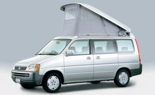 ホンダ車両をベースにキャンピングカー