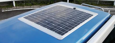 オプション装着「ソーラーシステム」好評です!